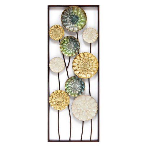 Floral Wonderland Panel Wall Decor