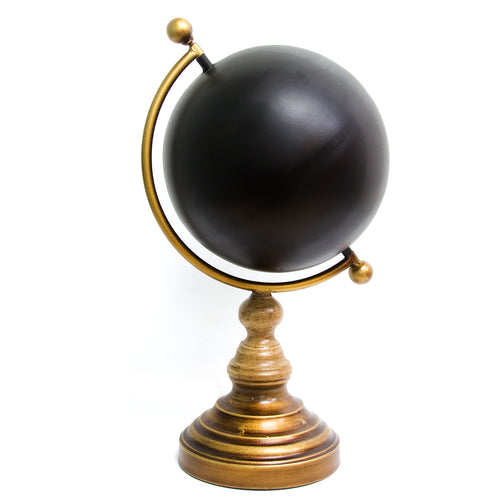 Chalkboard Globe Table Top Decor