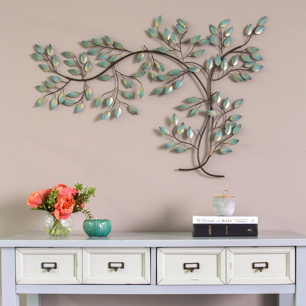 stratton home decor patina tree branch wall decor. Black Bedroom Furniture Sets. Home Design Ideas