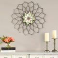 Statton Home Decor Mandala Flower Wall Decor