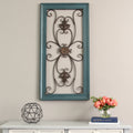 Stratton Home Décor Blue Scroll Gate Wall Decor