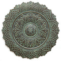 Green Roman Medallion Wall Decor