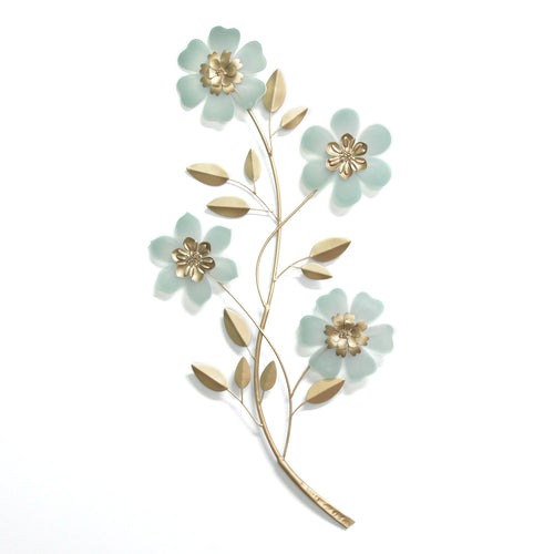 Acrylic Flower Branch Wall Décor