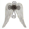 Angel Wings with Cross Wall Décor