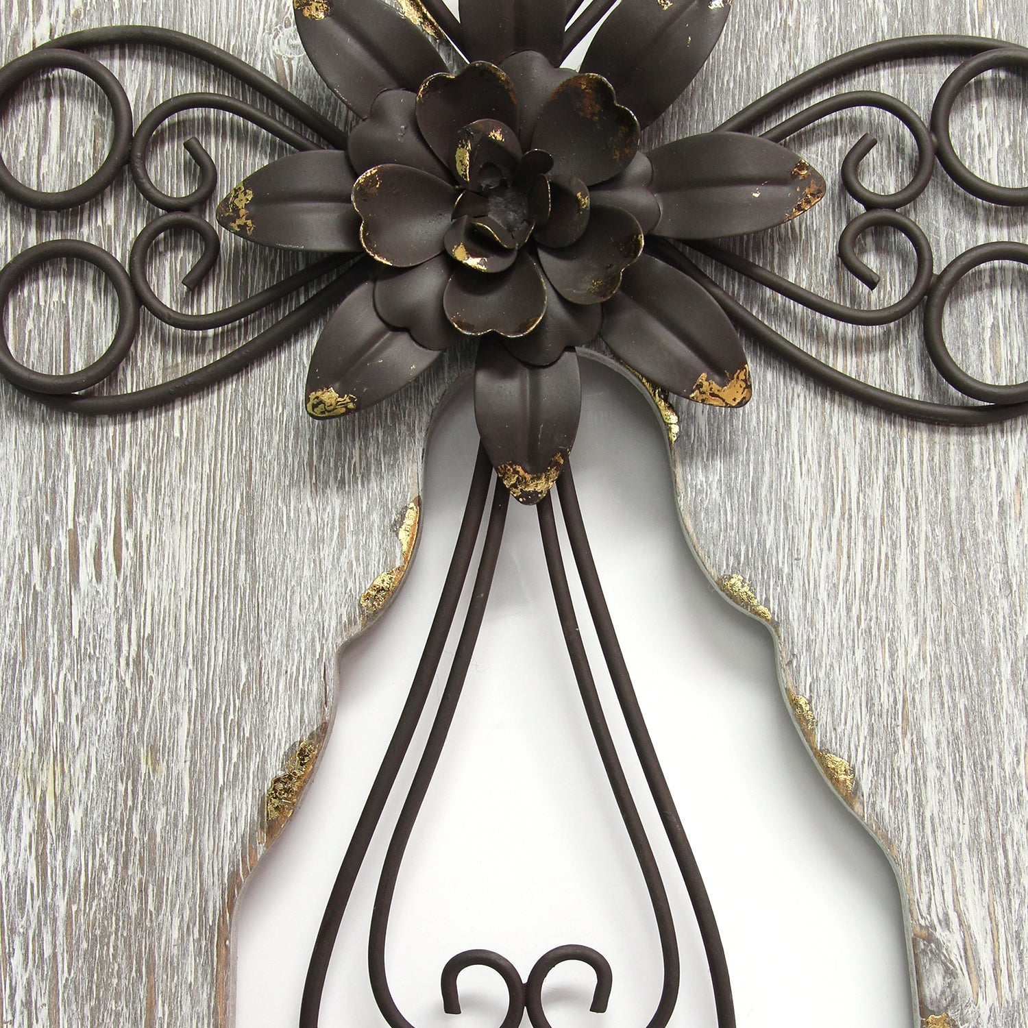 Angel Wings With Cross Wall Decor Stratton Home Decor