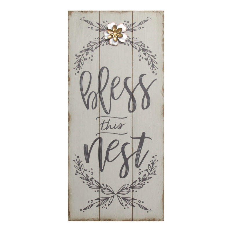Bless this Nest Rustic Wall Décor