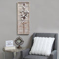 Cotton Stem Panel Wall Decor