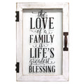 Life's Blessings Printed Glass Decor
