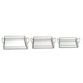 Stratton Home Decor Mirrored Trays (Set of 3)