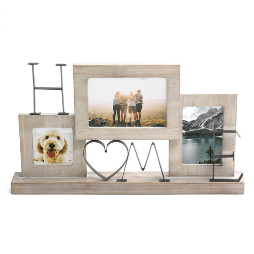 "Stratton Home Decor Tabletop ""Home"" Picture Collage Frame"