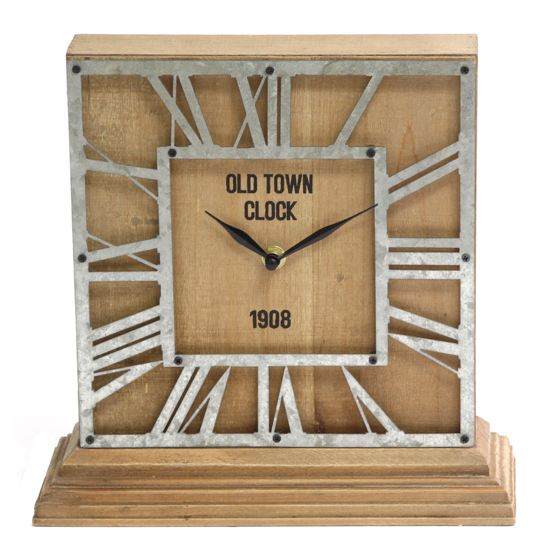 Stratton Home Decor The Hamilton Tabletop Clock
