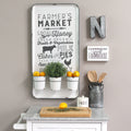 Stratton Home Decor Farmers Market Multi Function Wall Organizer