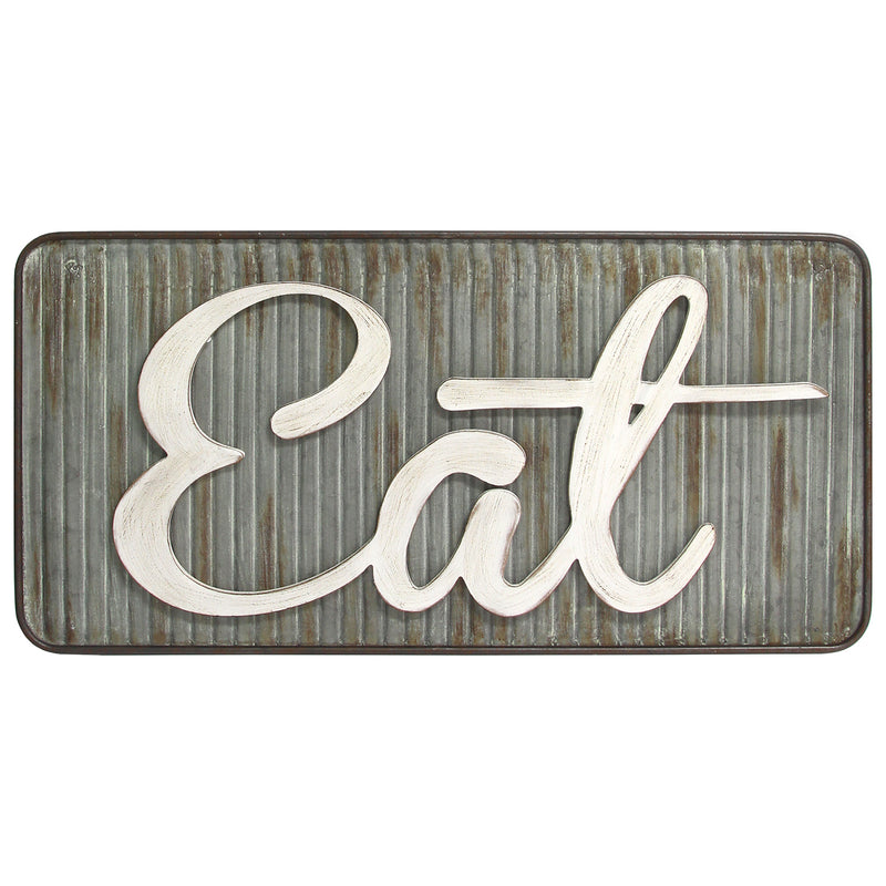 Stratton Home Decor Retro Eat Wall Decor
