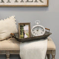 Stratton Home Decor Allie Table Clock