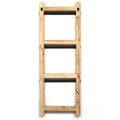 Stratton Home Decor Decorative Ladder with Basket Wall Decor
