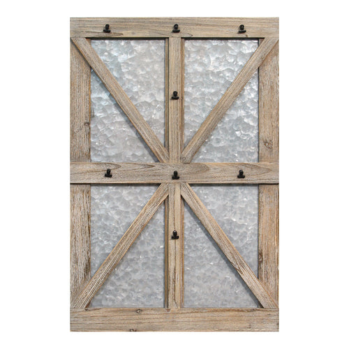 Stratton Home Decor Farmhouse Photo Organizer Wall Decor