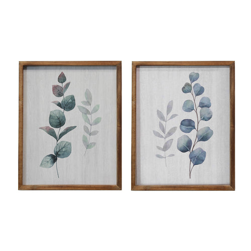 Stratton Home Decor Set of 2 Botanical Art