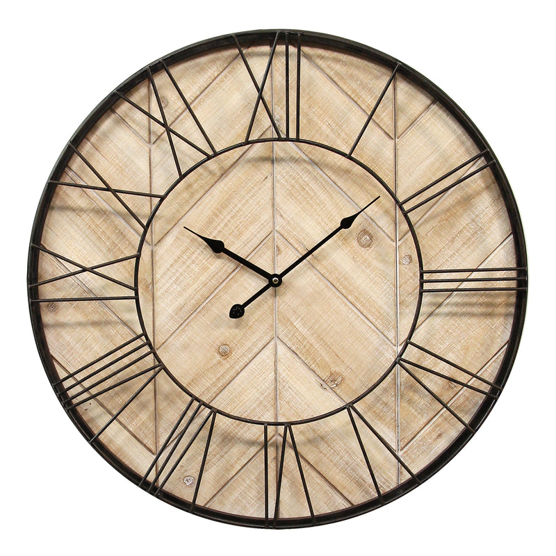 Stratton Home Decor Sam Wall Clock
