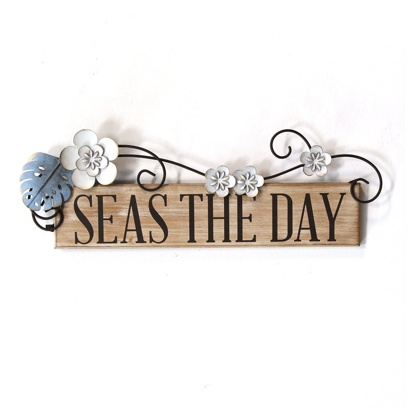 Stratton Home Decor Seas the Day Wall Decor