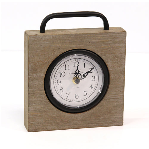 Stratton Home Decor Jose Table Top Clock