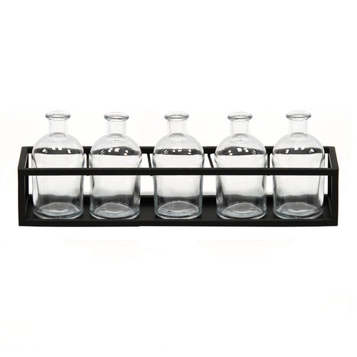 Stratton Home Decor  6 Piece Glass Vase Set