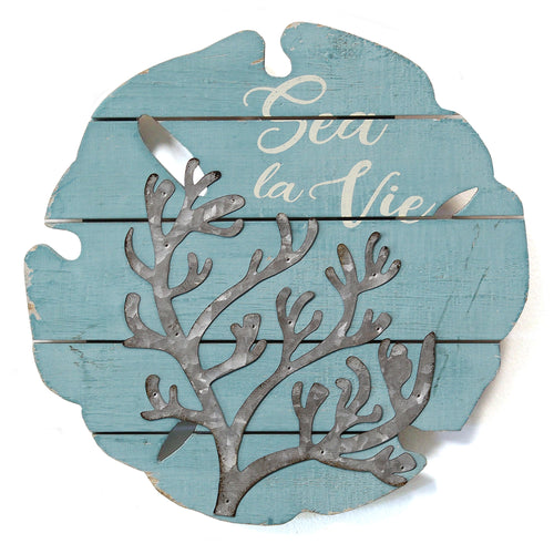 Stratton Home Decor Sea La Vie Wall Decor