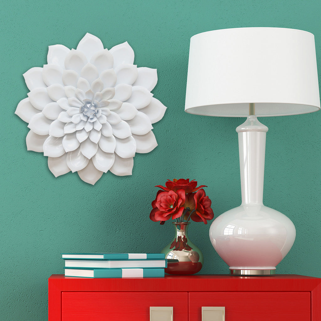 Home Interior Products: Layered Flower Wall Décor