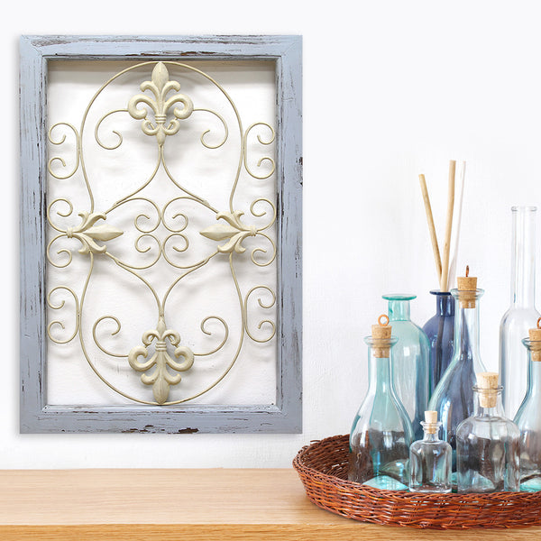 Scroll Panel Wall D Cor Stratton Home Decor