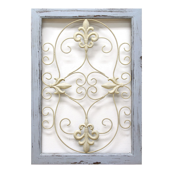 Scroll panel wall d cor stratton home decor for In home decor products
