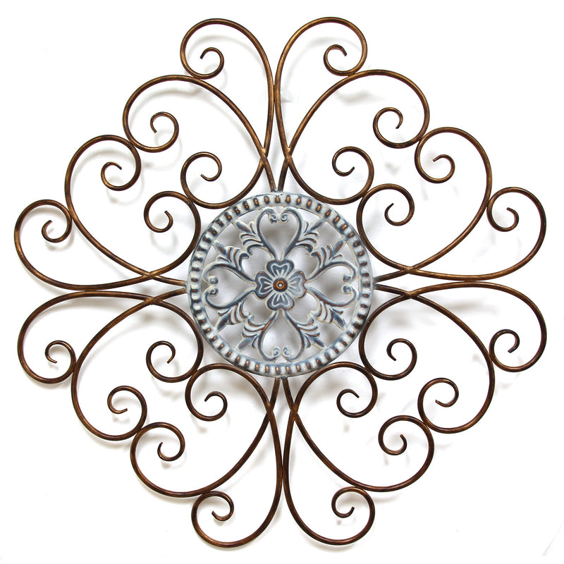 Stratton Home Décor Scroll Medallion Wall Décor