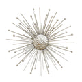 Stratton Home Décor Silver Burst Wall Décor