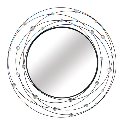 Stratton Home Décor Round Acyrlic Mirror