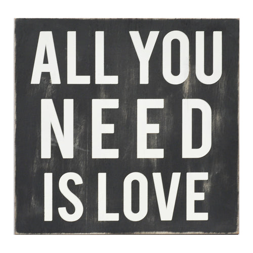 Stratton Home Décor All You Need Is Love Wall Art