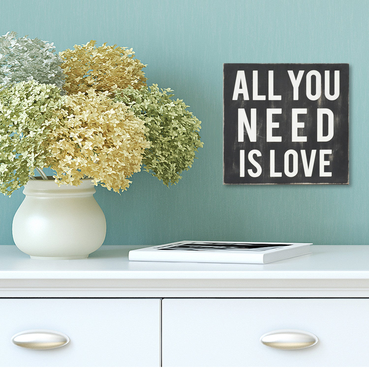 Wall Decor All You Need Is Love : Stratton home d?cor all you need is love wall art