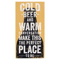 Cold Beer Wall Art