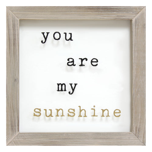 Stratton Home Décor You Are My Sunshine Framed Art