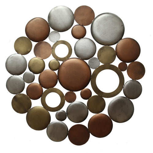Mixed Round Cluster Wall Décor