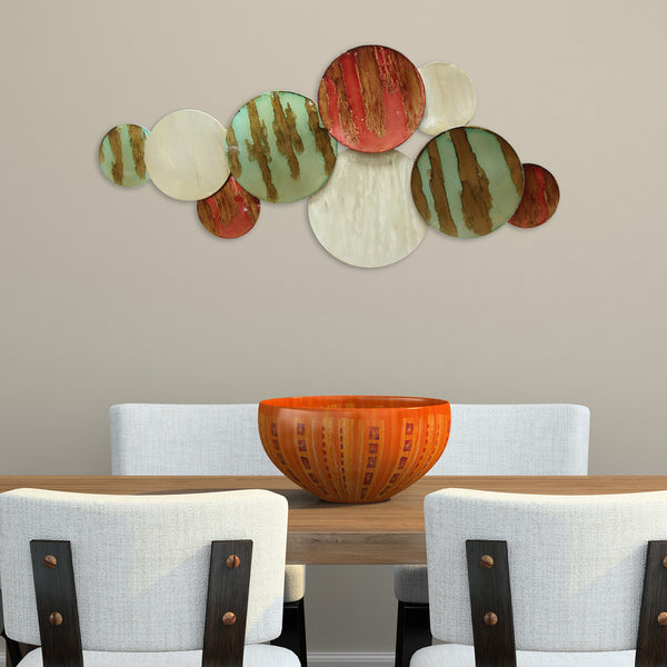 Multi circles wall d cor stratton home decor for In home decor products