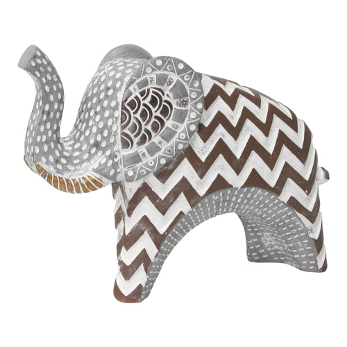 Stratton Home Decor Tribal Elephant Tabletop Statue