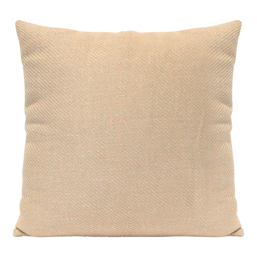 "Stratton Home Decor Sand Tweed 18"" Square Pillow"