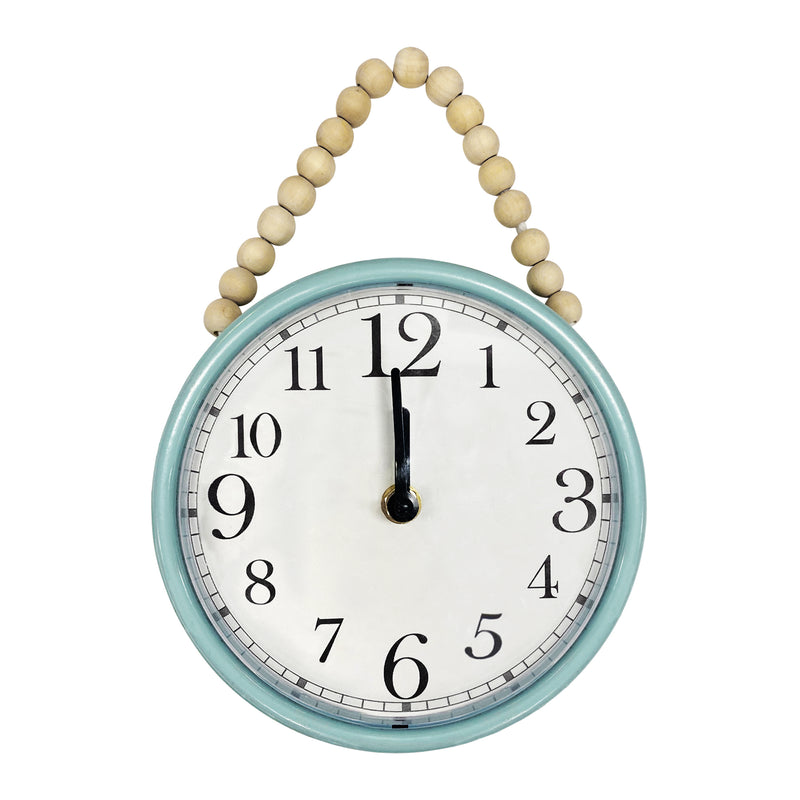 Stratton Home Decor Claire Bead Wall Clock