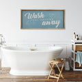 Stratton Home Decor Wash Your Worries Away Wall Art