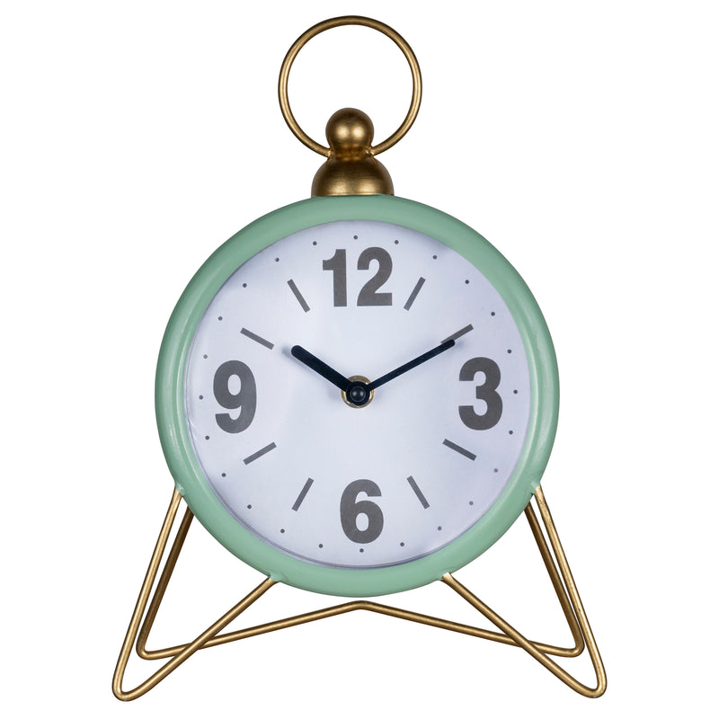 Stratton Home Decor Spencer Table Top Clock