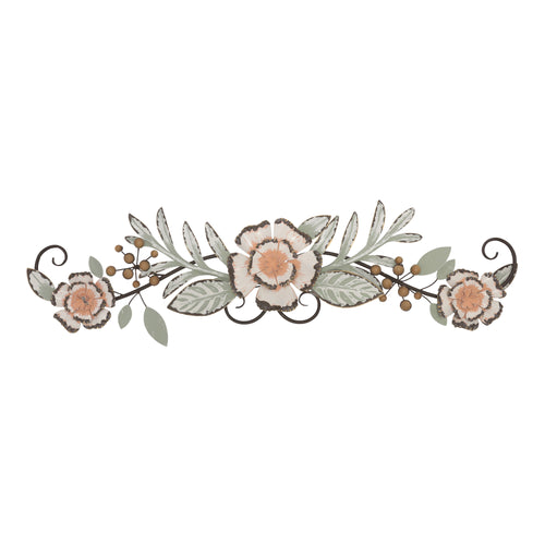 Stratton Home Decor Tropical Floral Over the Door Wall Decor