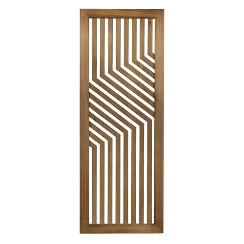 Stratton Home Decor Laser-cut Natural Wood Panel Wall Decor