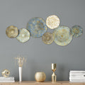 Stratton Home Decor Golden Rays Metal Plates Wall Decor