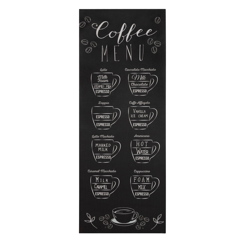 Stratton Home Decor Coffee Menu Wall Art