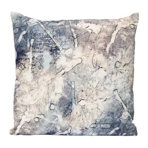 "Stratton Home Decor Modern Watercolor 18"" Square Pillow"
