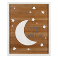 Stratton Home Decor Love You to the Moon and Back Wall Art
