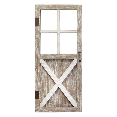 Stratton Home Decor Barn Door Wall Decor
